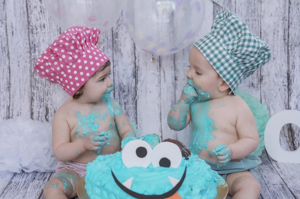 SMASH CAKE – Sesiones divertidas de primer cumpleaños
